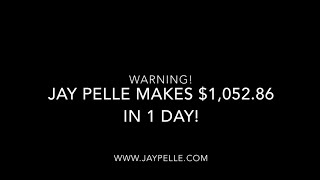 Jay Pelle Makes $1,052.86 in 2 Minutes LIVE