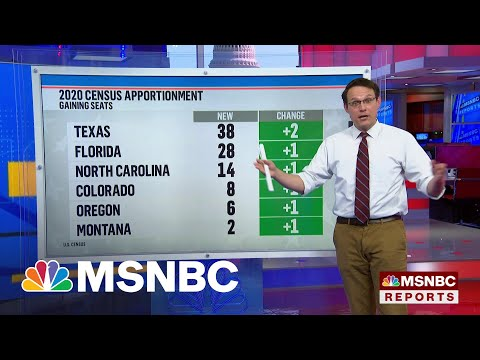Which States Lost Or Gained Seats In The House From The 2020 Census Results? | MSNBC