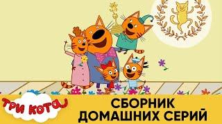 Три Кота   Сборник домашних серий   Мультфильмы для детей 2021😍