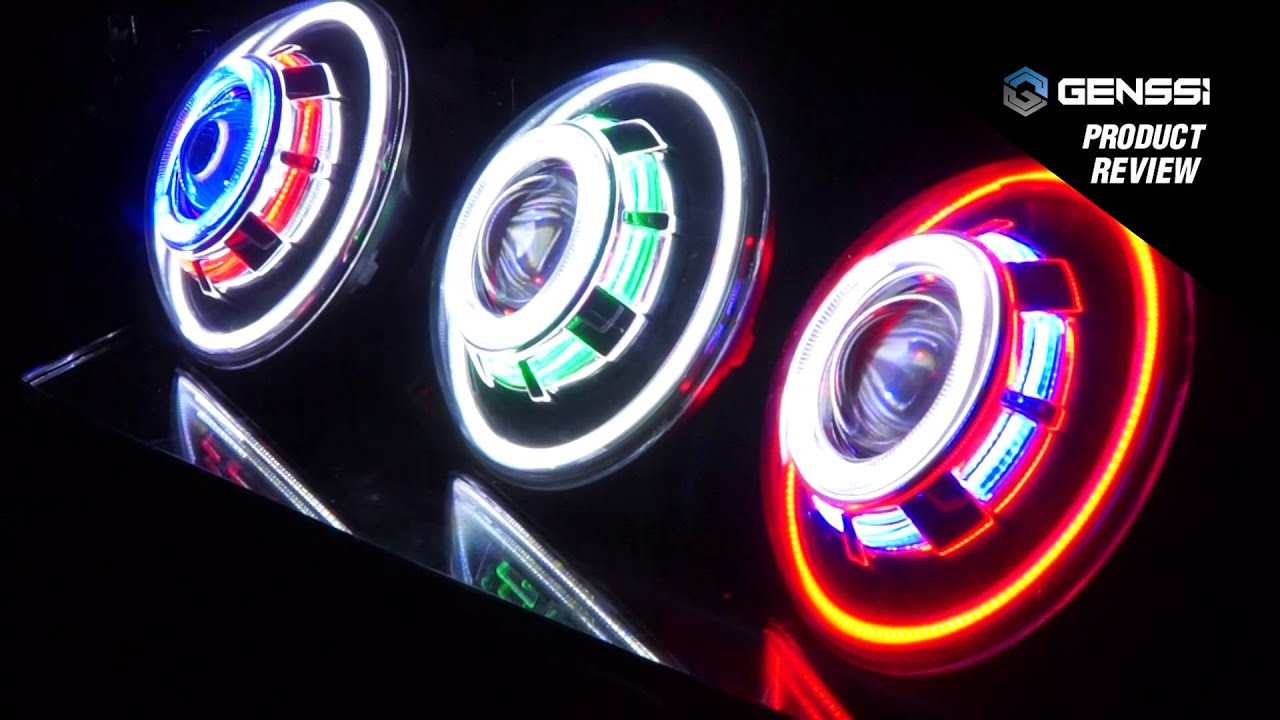 Led Halo Lights For Motorcycles
