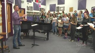 High School students prepare debut of song focused on feelings after shootings
