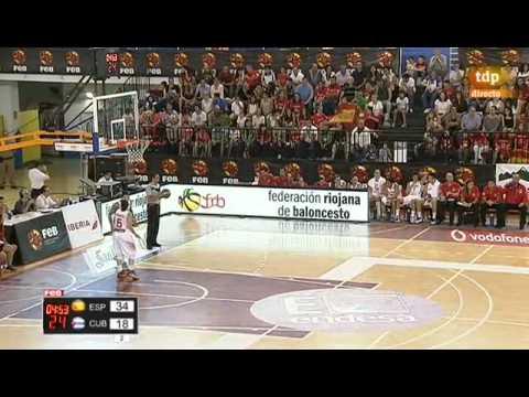Preparación Campeonato del Mundo España vs Cuba Baloncesto femenino
