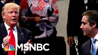 Docs: Donald Trump Discussed Squashing Stories About Affairs | Velshi & Ruhle | MSNBC
