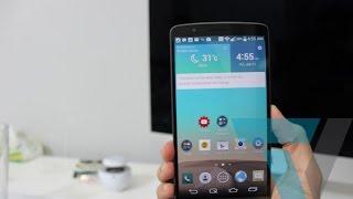 أكثر من 15 حركة بهاتف LG G3