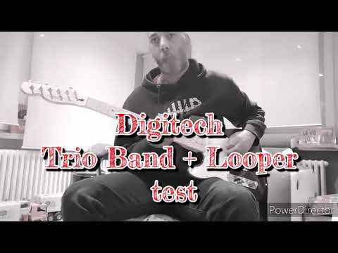 Digitech Trio Band + Looper test All Along the Watchtower