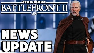 Star Wars Battlefront 2 - Count Dooku and Clone Wars Hero Voices, Making of Geonosis and More!