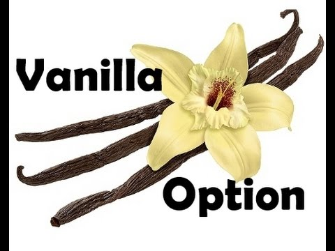 When does a trader buy a vanilla option