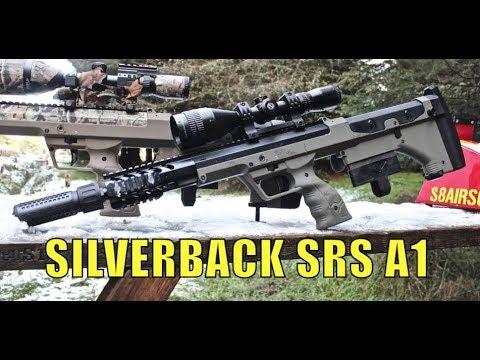 Airsoft War - SILVERBACK SRS SNIPER