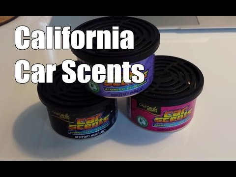 California Car Scents Test