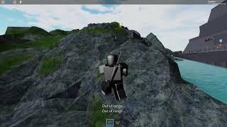 ROBLOX - Isla: Matar mercenarios [La insignia de depredador] (Solo)