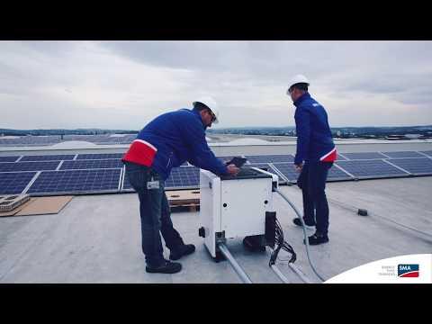 SUNNY TRIPOWER CORE1 Installation Video