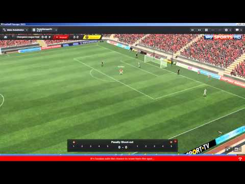 Football Manager 2013 | Arsenal Let's Play S02 E18 : Champions League Final 2014 (3D Gameplay)