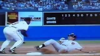 1992 home opener for Braves vs giants