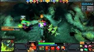 Dota 2 : Skeleton king Rampage Kill