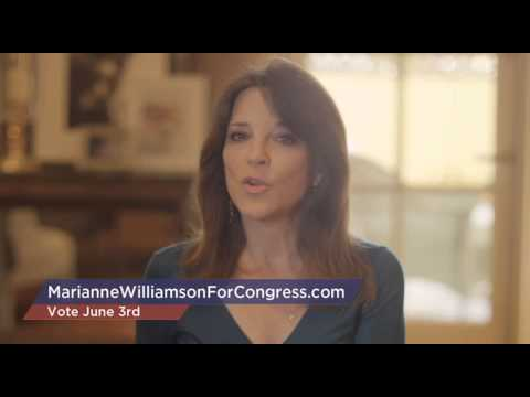 Marianne Williamson for Congress District 33
