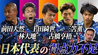 【本音】闘莉王が現日本代表FWの得点力不足に一言。
