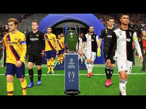 Juventus Vs Barcelona - Final UEFA Champions League 2020 UCL - Messi Vs Ronaldo - PES 2019