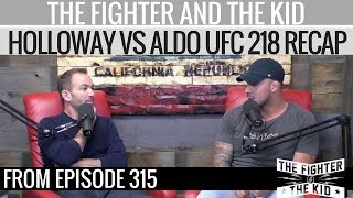 Max Holloway Fights in a Style like the Diaz Brothers I UFC 218 RECAP