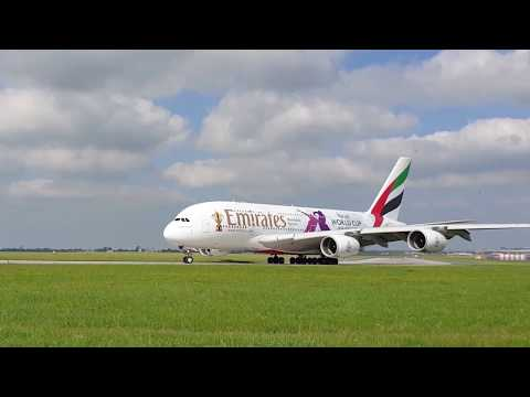 Emirates reveals Rugby World Cup 2019 Airbus A380 | Emirates Airline