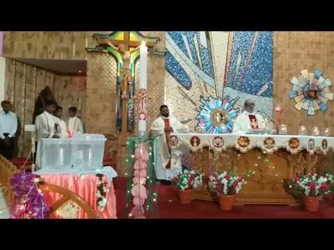 Easter prayer of st Xavier Catholic church, Bikaner ,Rajasthan