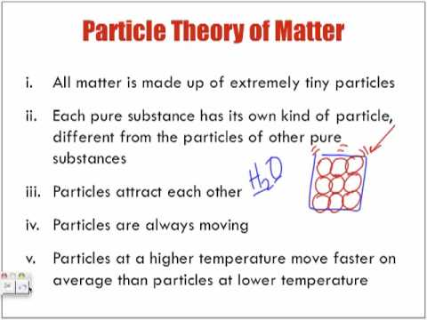 introduction to particle theory of matter lecture youtube. Black Bedroom Furniture Sets. Home Design Ideas