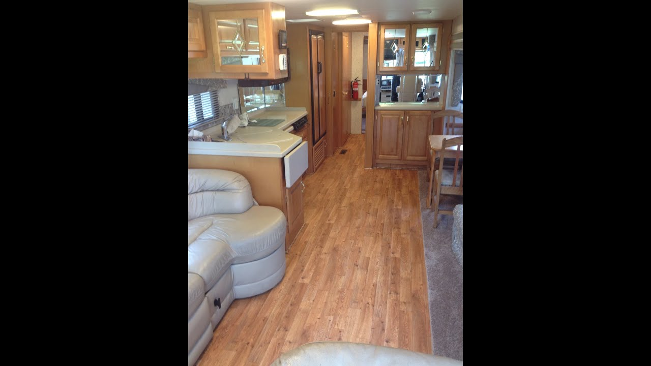 RV Flooring Replacement - YouTube