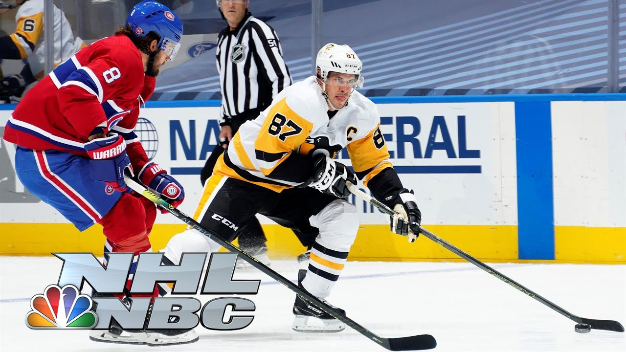 NHL Stanley Cup Qualifying Round: Penguins vs. Canadiens | Game 3 EXTENDED HIGHLIGHTS | NBC Sports