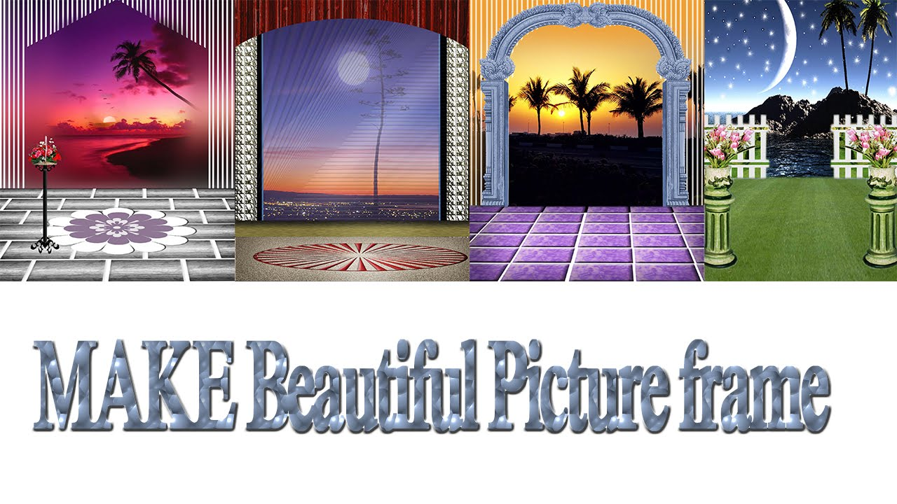 Old Fashioned Adobe Photoshop Picture Frame Frieze - Ideas de Marcos ...