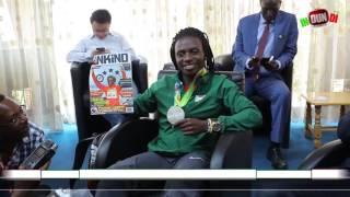 #INDUNDI Tv/Sport # Iyakirwa rya Francine NIYONSABA