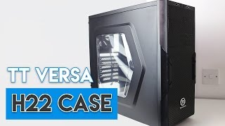THE BEST BUDGET PC CASE?! - Thermaltake Versa H22 Review!