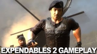 Expendables 2 Videogame - Get Back in the Killing Game Gameplay