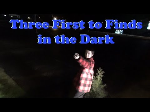 Three First to Finds in the Dark