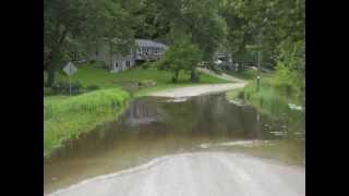 June 2013 Cedar River Flooding in Rochester, Iowa