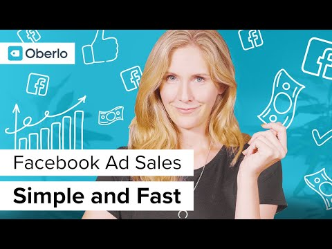 How to Make Money FAST With Facebook Ads for Beginners | Oberlo Dropshipping