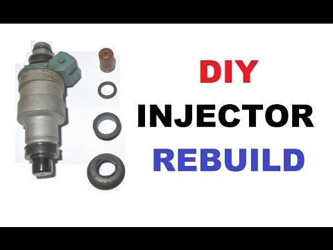 DIY - How to install an injector rebuild service kit - YouTube