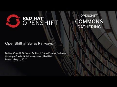 OpenShift at Swiss Railways