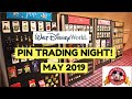 PIN TRADING NIGHT! | Walt Disney World - May 2019 (Pin Previews)