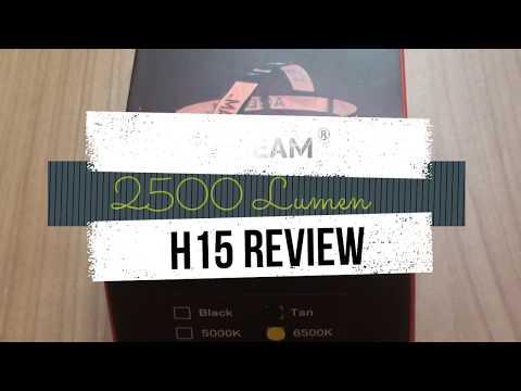 Acebeam H15 Kopflampe mit 2500 Lumen Review
