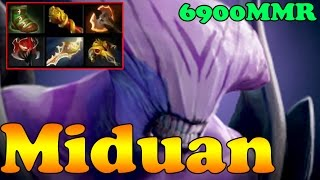 Dota 2 - Miduan 6900 MMR Plays Faceless Void Vol 2 - Ranked Match Gameplay!