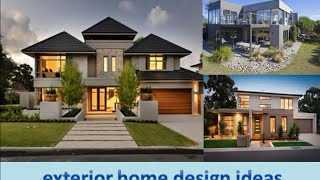 Ideas exterior home design part 1