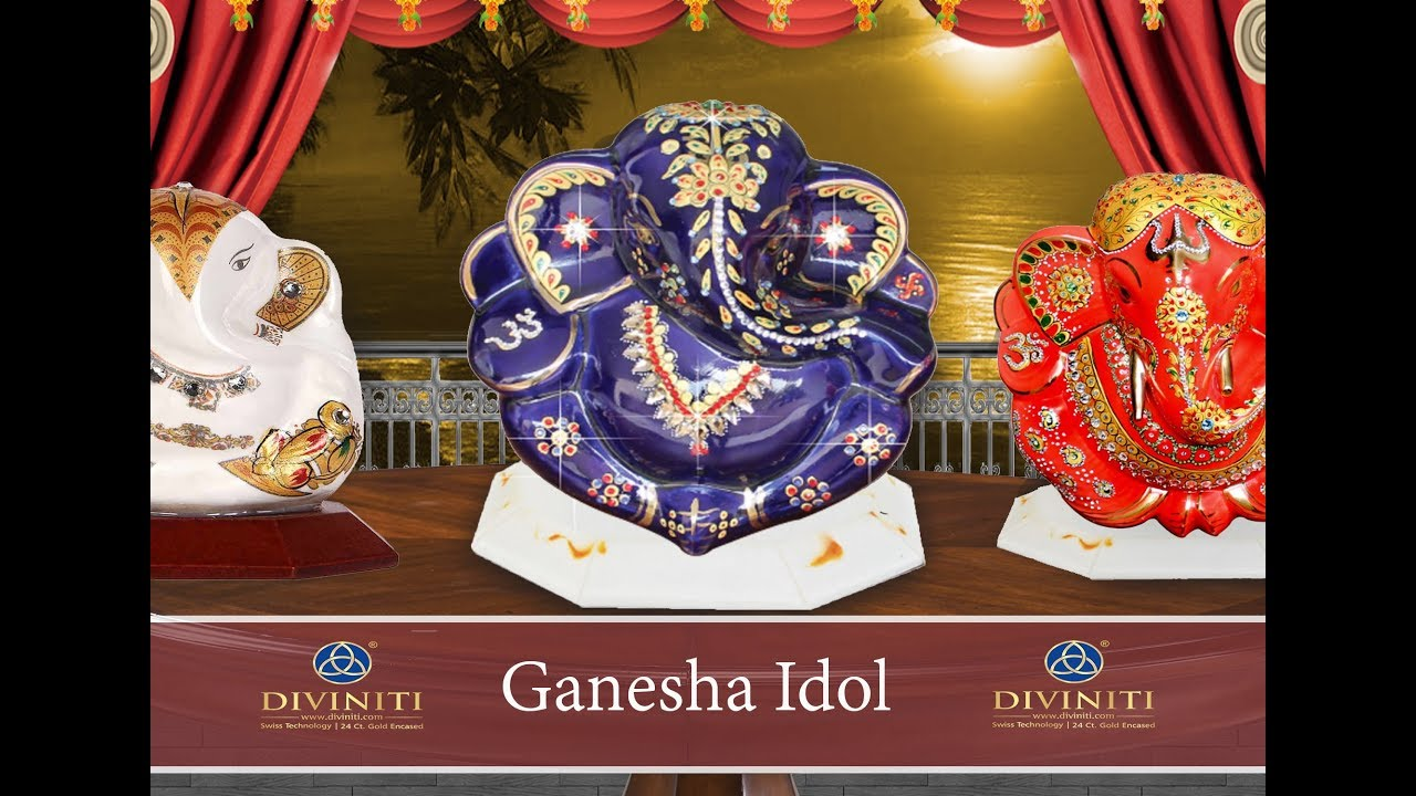 Diviniti Ganesha Idol Murti Youtube