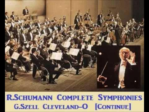 R.Schumann Complete Symphonies [ G.Szell Cleveland-O ] (1958~60)