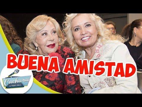 Carla Estrada dice que tiene una excelente relación con Silvia Pinal I LA CUCHARA