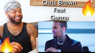 🔥 Chris Brown - Heat (Official Video) ft. Gunna | Reaction
