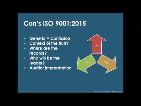 ISO 9001:2015 Forum - December Webinar