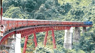 The MOST DANGEROUS & SCENIC Rail Route in North East INDIA | NFR MG