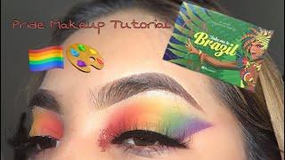 rainbow makeup tutorial