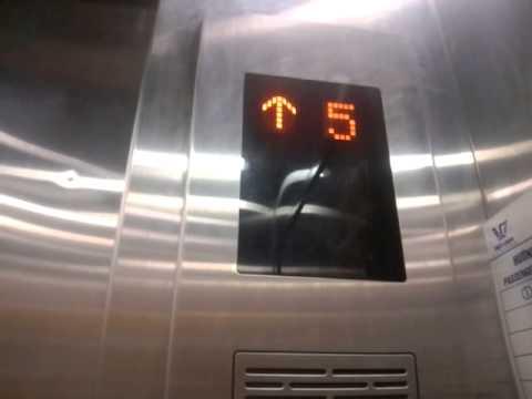 Shanghai Mitsubishi Elevator Lotteria Building Youtube