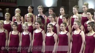 Cantamus Girls Choir sings 'Dance to Your Daddy'