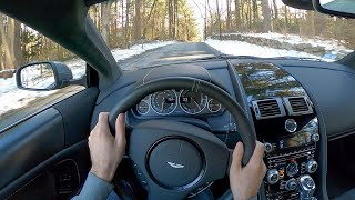2009 Aston Martin DBS Manual - POV Test Drive by Tedward (Binaural Audio)